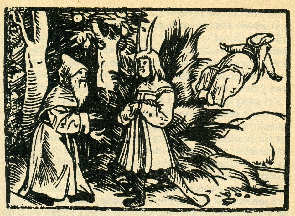 The most memorable woodcut in the book